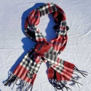 CEJON PLAID SCARF